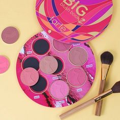 Get your wallet out and your credit card ready for the Tarte Big Blush Book 2 Palette that's available now at tarte.com. This delicious blush palette is fi