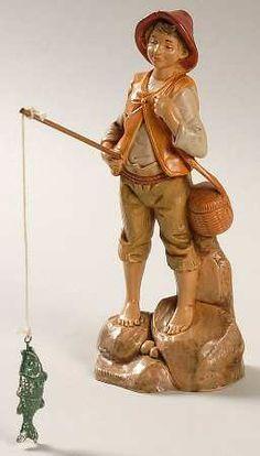 "Roman Fontanini Heirloom Nativity 5"" at Replacements, Ltd -Jacob #52583"