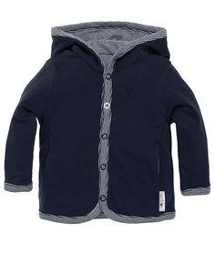 Noppies newborn jongens jasje 2 aan 2 kanten te dragen