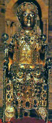Relikwiarz św. Fides (Foy) z Conques