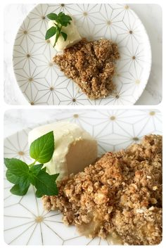 Recept:  Vegan apple crumblepie