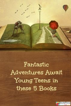 Fantastic Adventures Await Young Teens in these 5 Books @Education Possible   Is this genre on your children's reading list? If not, encourage them to give one of the titles below a try. My kids adore these books and highly recommend them to anyone looking to escape into exciting worlds, full of action and intrigue.