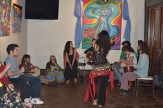Nilia's Art Exhibit at Sawa Restaurant. Belly dancing to the jam with Carla Cao, Desi Love, Joogy Basna. Desi Love, Event Pictures, Belly Dance, Exhibit, Dancing, Restaurant, Art, Craft Art, Bellydance