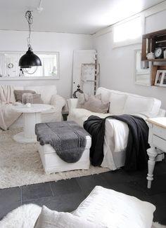 HANNAS: rustikt vardagsrum