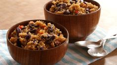 Spanish Quinoa Pilaf -delicious and exotic side dish. Love love love.