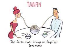 Yuanfen - Untranslatable Words - Vashi
