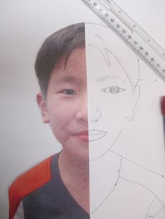 Have your students combine measurement and geometry skills to create these beautiful, symmetrical self-portraits.