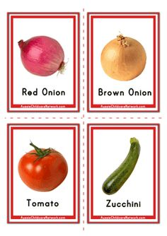 Flashcards of Vegetables Flashcards For Toddlers, Preschool Worksheets, Free Preschool, Esl Lessons, Lessons For Kids, My Baby Can Read, Aussie Childcare Network, Poland Food, September Preschool