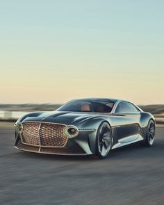 For 100 years of their brand, Bentley Motors Limited designed a radical new concept car. New Sports Cars, Exotic Sports Cars, Sport Cars, Exotic Cars, Bentley Motors, Bentley Car, Bugatti, Bmw, Mercedes Benz