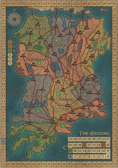 The witcher world map by dwarfchieftain fantastical fandom for the witcher world map by dwarfchieftain fantastical fandom for grown ups pinterest fiction gumiabroncs Images