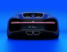 Bugatti Chiron, the most powerful, the fastest, the most luxurious and the most exclusive production super sports car.
