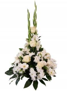 Mère de soie Enterrement Fleur Tout 6 lettre artificielle nom Couronne Tribute Memorial