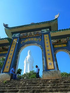 The temple of the lady Buddha in Da Nang, Vietnam