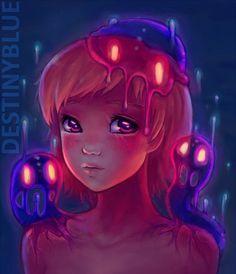 Wonderful Illustrations by DestinyBlue http://www.cruzine.com/2013/12/02/wonderful-illustrations-destinyblue/
