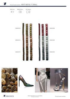 Jablonex TILE BRICK RING matt metal V small