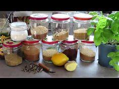 DIY: práškový cukor   vanilkový cukor   škoricový cukor a ďalšie - YouTube Mason Jars, Youtube, Diy, Bricolage, Mason Jar, Do It Yourself, Youtubers, Homemade, Diys