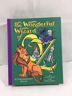 THE WONDERFUL WIZARD OF OZ COMMEMORATIVE POP UP BOOK EXC COND ROBERT SABUDA