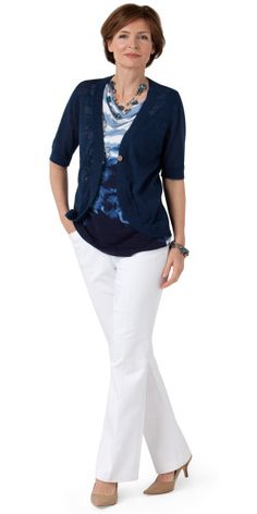 Watercolor Dreams Cowl Outfit - Christopher & Banks
