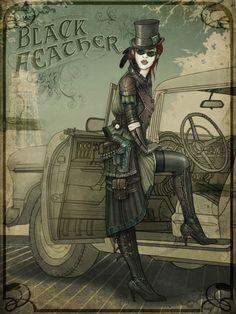 Black feather by Ricean Vlad ktk