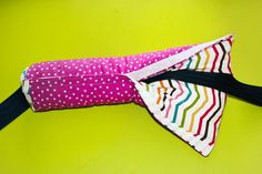 """SEATBELT pillow,  13"""" x 8"""", reversible Thinking I'm going to have to make one of these for the girls! Cute Car Seat Covers, Seat Belt Pillow, Kids Pillows, Love Sewing, Pillowcases, Snuggles, Car Accessories, Sewing Clothes, Diy For Kids"""
