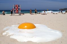 Public art at the beach