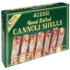ALESSI, CANNOLI SHELLS LRGE, 4 OZ, (Pack of 12)  Searching for Grocery and Gourmet Food online? Buy cannoli shells lrge 4 oz (pack of 12) Online in USA on Groceryeshop.us.