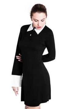 Addams Dress [B] #KILLSTAR