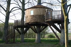 Image result for woodland tree house