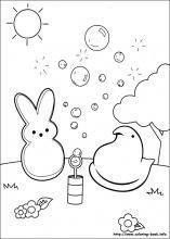 find this pin and more on peeps coloring pages