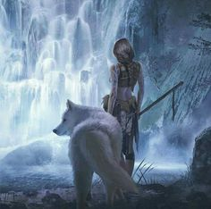 .Artemis was often described as the daughter of Zeus and Leto, and the twin sister of Apollo. She was the Hellenic goddess of the hunt, wild animals, wilderness, childbirth, virginity and protector of young girls, bringing and relieving disease in women; she often was depicted as a huntress carrying a bow and arrows. The deer and the cypress were sacred to her. Viona-Art