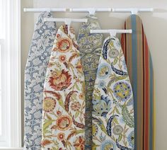 Pretty ironing board covers