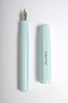 Mint Skyline Fountain Pen via The Hambledon #thoughtful as hell #socialpreparednesskit #eggpress