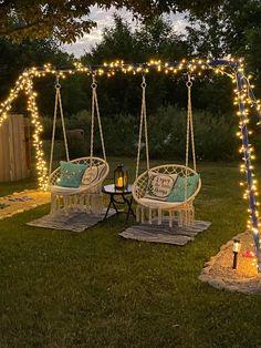 Backyard Patio Designs, Backyard Projects, Outdoor Projects, Garden Projects, Backyard Landscaping, Backyard Ideas For Kids, Backyard Swings, Garden Swings, Backyard Paradise