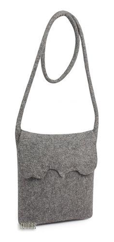 Bag (small). Composition: felt - 100% wool. Handmade. Technique - sollid-rolled. Catalogue 2017 Tumar Art Group