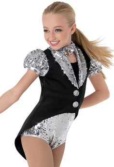 Weissman™ | Sequin Fosse Tailored Leotard