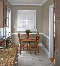 Go-To Greiges - the paint is Benjamin Moore's Pashimina