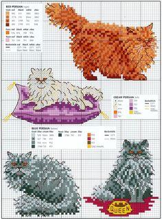 Fat Cat Cross Stitch Tarjeta Kit-Rockin /'Robins