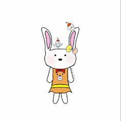 My drawing.... love bunny #bunny #drawing #mydrawing #cute #kawai