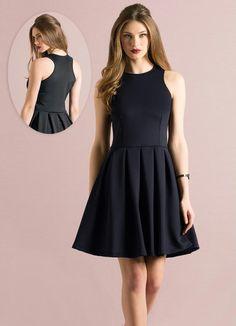 Vestido Godê Preto - Quintess