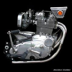 NO 22: CLASSIC BSA ROCKET 3 MOTORCYCLE ENGINE by Gordon Calder, via Flickr