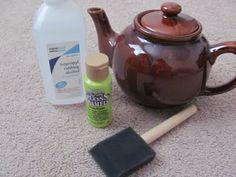 paint ceramic / pintando ceramica