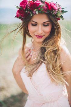 26 Mejores Imagenes De Peinados Con Coronas De Flores En 2019