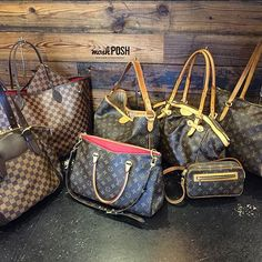 Lots of LV in!!! Call us at 813-258-8800 if you would like additional information or would like to purchase before they go online! #louisvuitton #lvhandbags #louisvuittonmonogram #damierebene #obsessed #fashion #luxury #bagsofTPF #purseblog #purselover #moshposhfinds #mymoshposh #designerconsignment