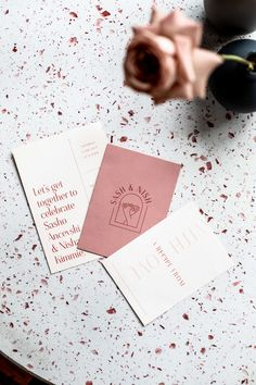 Sash and Nish's Melbourne Brewery Wedding — State Of Reverie. Modern Wedding Stationery, Bespoke Wedding Invitations, Wedding Stationary, Autumn Wedding Invitations, Stationery Design, Invitation Design, Invite, Branding Design, Gate Design