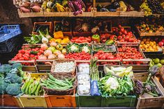 Italian Shop Selling Fruit and Vegetables by Giorgio Magini for Stocksy United