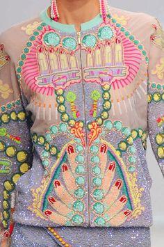 Pattern Print Manish Arora
