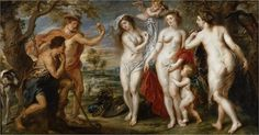 Paridův soud (Judgement of Paris) - Peter Paul Rubens