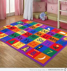 15 Kidu0027s Area Rugs For More Enjoyable Playtime Carpets, Rugs On Carpet,  Alphabet Letters