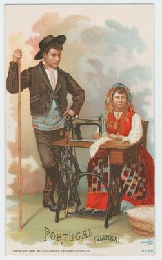 trade card Portugal 1892