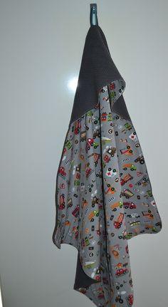 Tutorial omslagdoek  met wafelkatoen en tricot   Benodigdheden:      90 cm wafelkatoen (Jan Sikkes)  90 cm tricot  bijpassend naaigaren ...